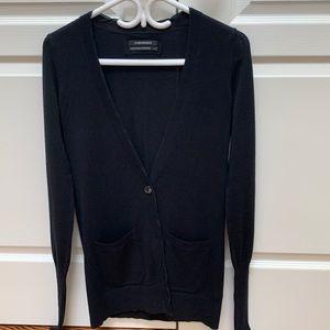Club Monaco Wool and Cashmere Long Cardigan